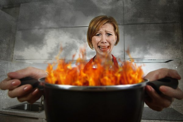 depositphotos 91453176 stock photo young inexperienced home cook woman