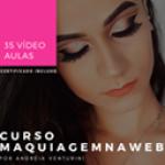 Curso de Maquiagem na Web com 60% OFF