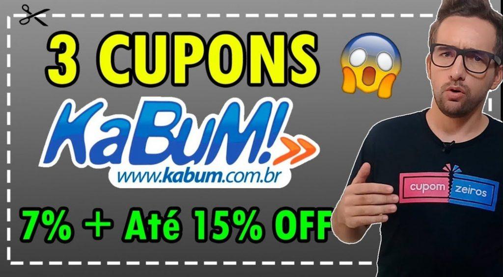 Imagem do canal Cupomzeiros sobre cupons da kabum