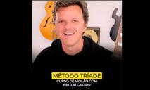 Cupom Curso de Violão Método Tríade com Heitor Castro