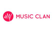 Logomarca Cupom Music Clan, Código de Desconto Promocional Julho 2020