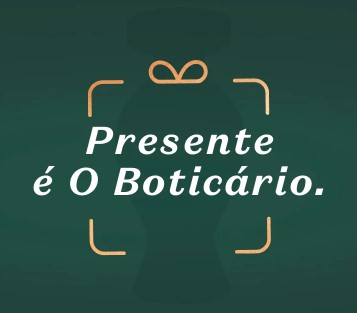Kits para presentes até 60% OFF na O Boticário