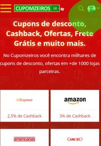 Como funciona o Cashback no Cupomzeiros