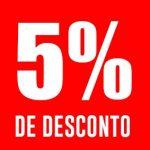Cupom primeira compra Porto de Letras 5% OFF