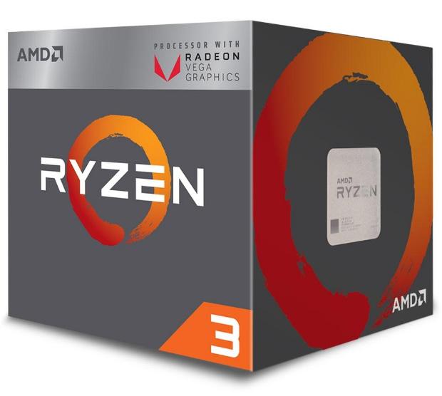 Imagem Processador AMD Ryzen 3