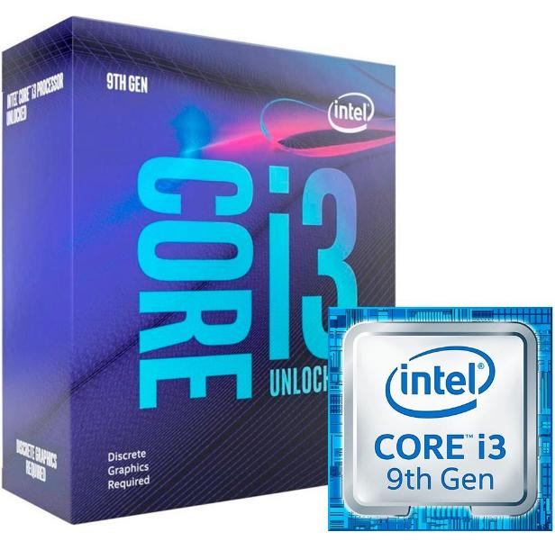 Imagem Processador Core i3 9350KF