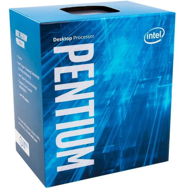 Imagem Processador Intel Pentium G4560 Kaby Lake, Cache 3MB, 3.5Ghz, LGA 1151 - BX80677G4560