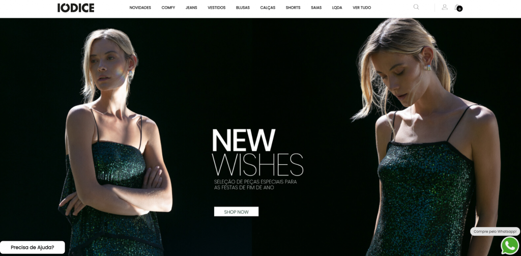 Imagem do site IODICE