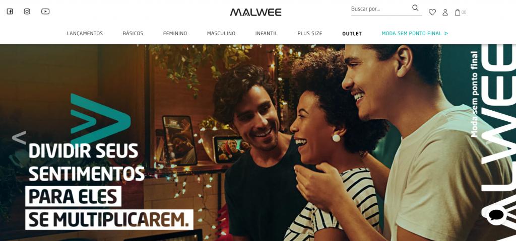 imagem do site malwee