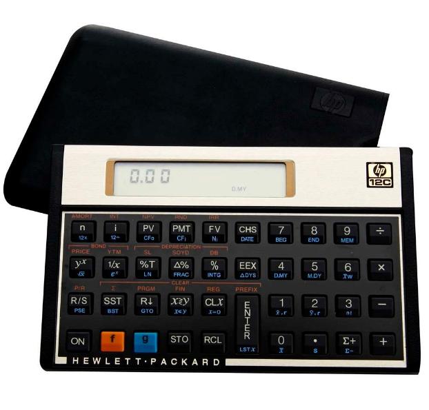 Imagem Calculadora Financeira HP 12C Gold