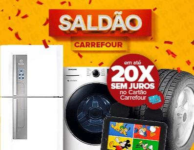 Grande Saldão Carrefour até 50% OFF