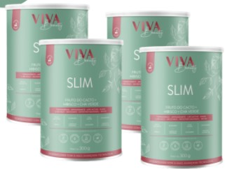 Emagrecedor Natural Viva Slim 8 em 1 – Viva Beauty