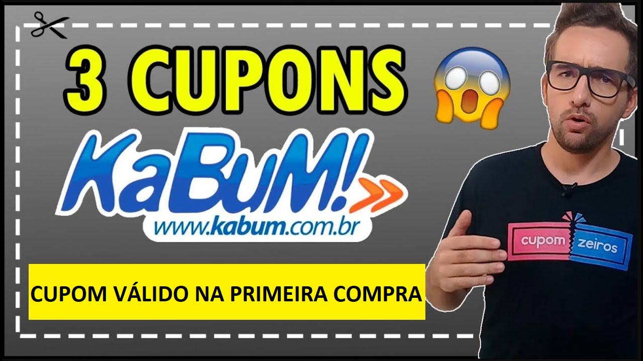 Imagem promocional do cupom de desconto kabum