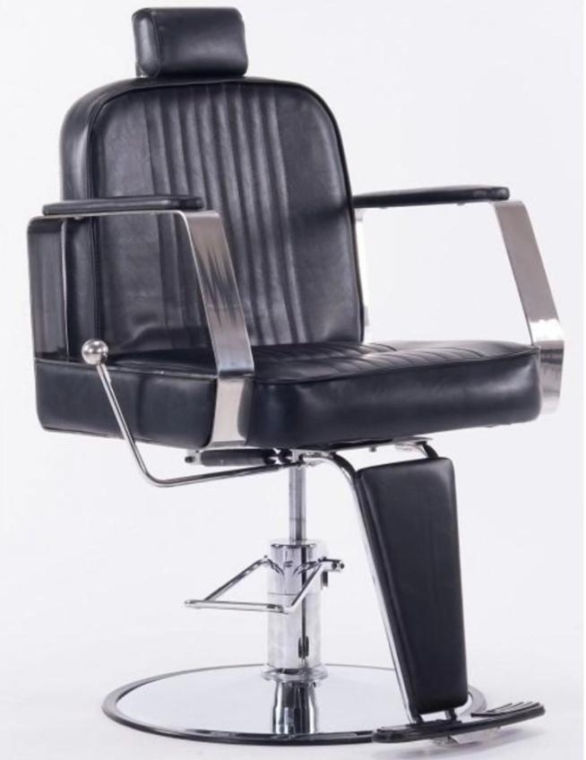 Modelo Cadeira de Barbeiro da Pelegrin Retro Reclinável C1307