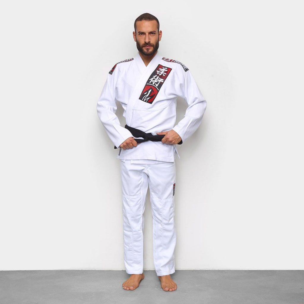 Modelo Kimono Jiu-Jitsu Naja Choke - Branco