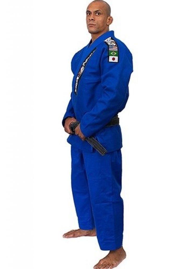 Modelo Kimono Red Nose - TOP World Jiu-Jitsu - Azul A3