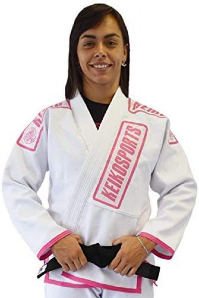 Modelo Kimono Jiu-Jitsu Feminino Keiko Sports Meninas