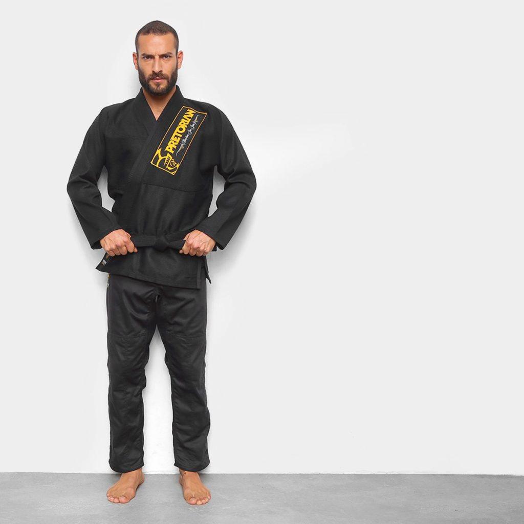 Modelo Kimono Jiu-Jitsu Pretorian Classic - Preto