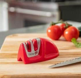 Modelo Afiador de facas 50883 Edge Grip 2-Stage Knife Sharpener da Kitchen IQ
