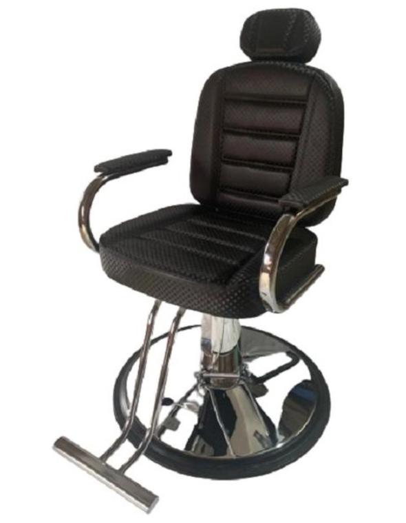 Modelo Poltrona Cadeira Reclinável Sandra De Barbeiro da BM Móveis com base
