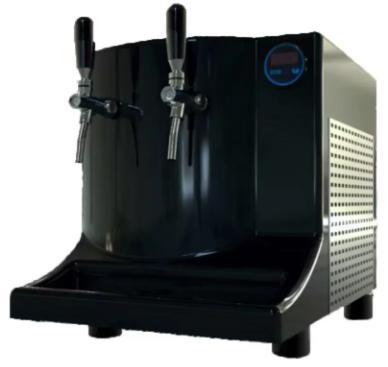 Modelo Chopeira PRO elétrica 220v da Ebeber100L Fiber master 2 torn