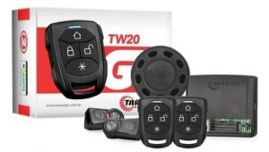 Modelo Alarme automotivo da Taramps, TW20 G3