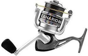 Modelo Molinete para Pesca da Canário 30 Preto - Albatroz