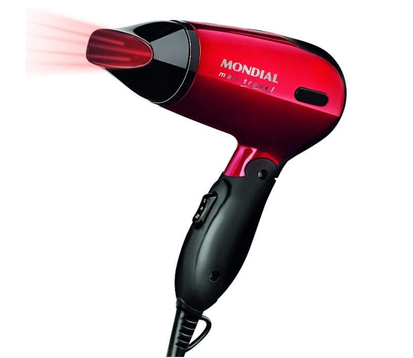 Imagem do secador de cabelo Mondial Max Travel SC-10 1200W