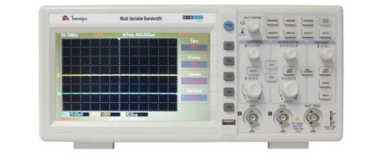 Modelo Osciloscópio Digital 50MHz 2 Canais Mvb-Dso50mhz da Minipa