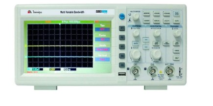 Modelo Osciloscópio Digital Mvb-dso 2 Canais 100mhz da Minipa