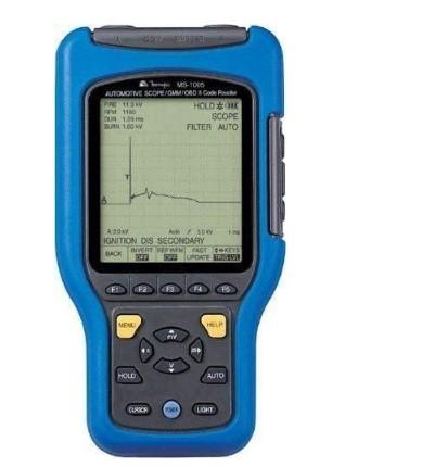 Modelo Osciloscópio e multímetro gráfico automotivo Minipa MS-1005