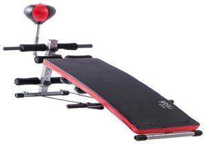 Modelo Prancha abdominal da Basic + Fitness