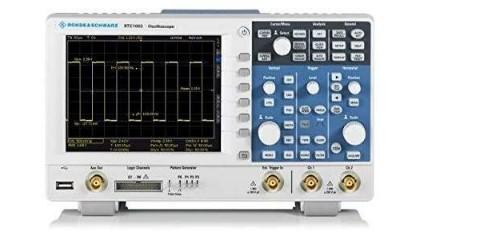 Modelo RTC1002 - Osciloscópio Digital Rohde & Schwarz 50MHz, Com gerador de funções incorporado