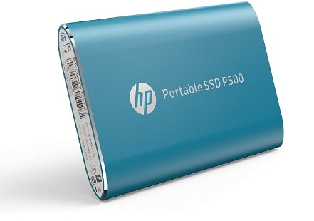 Modelo SSD externo da HP - P500 de 250GB