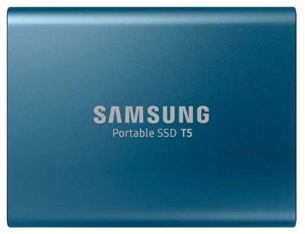 Modelo SSD externo da Samsung - T5 de 250GB