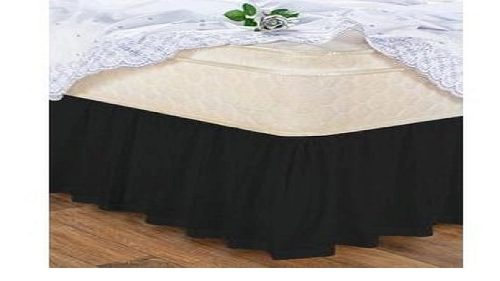 Modelo Saia para cama box solteiro da Hazime enxovais