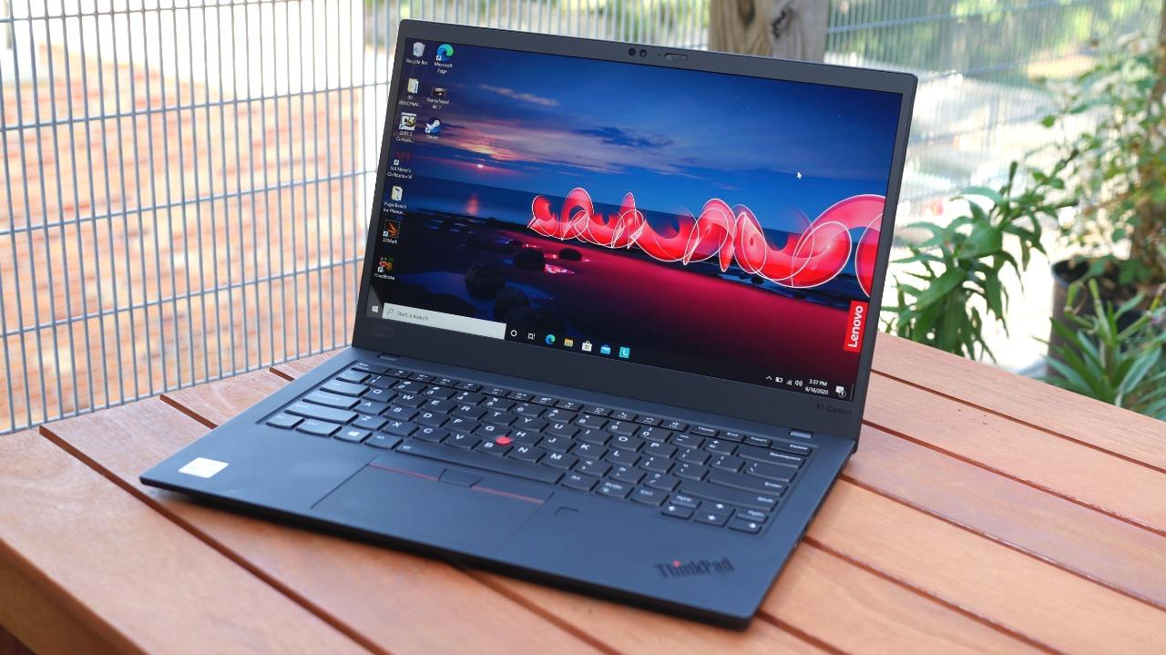 Imagem do notebook Lenovo X1 Carbon