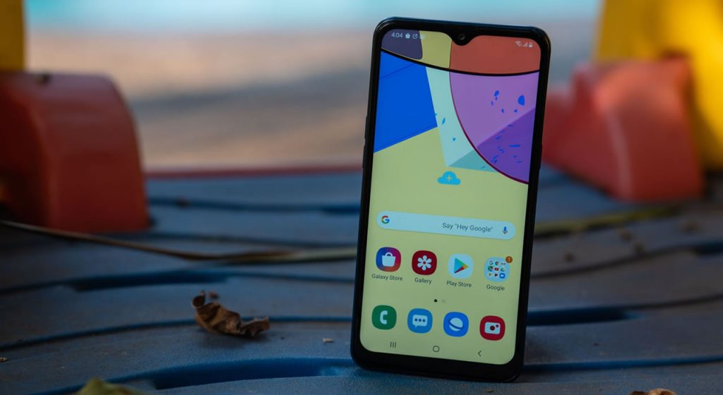 Samsung A10s - frontal
