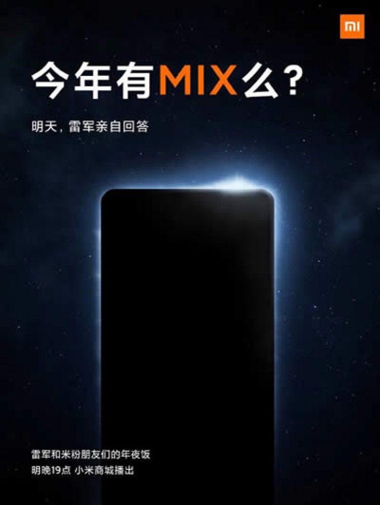 xiaomi mi mix teaser Xiaomi Mi Mix, com câmera frontal sob o display, poderá ser lançado ainda este ano