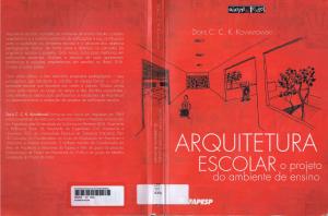 Capa do livro Arquitetura escolar o projeto do ambiente de ensino