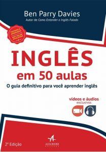 Capa do livro Inglês em 50 Aulas