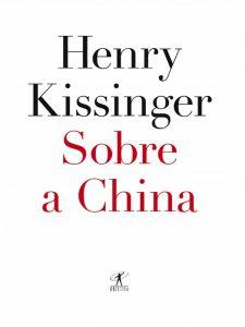 Capa do livro de História: Sobre a China