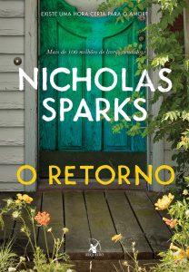 Capa do livro O retorno de Nicholas Sparks