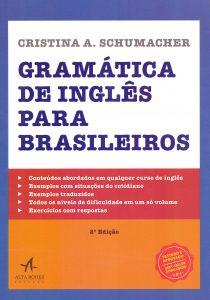 Capa do livro Gramática de Inglês Para Brasileiros