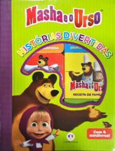 Capa do livro Masha e o urso: histórias divertidas