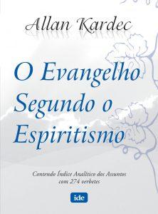 Capa do livro O Evangelho Segundo o Espiritismo