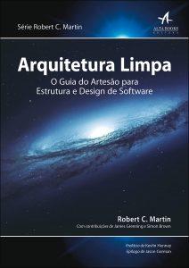 Capa do livro Arquitetura limpa: o guia do artesão para estrutura e design de software