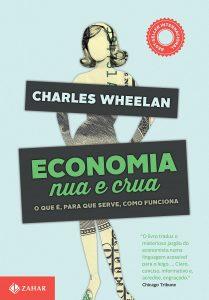 Capa do livro Economia nua e crua