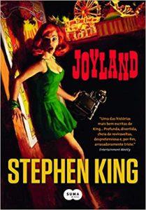 Capa do livro Joyland de Stephen King