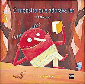 Capa do livro O monstro que adorava ler
